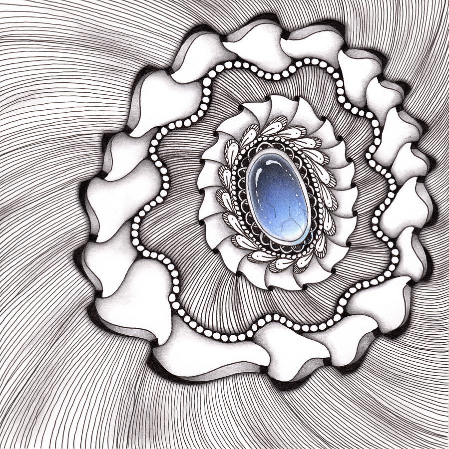 Spinning Gemstone Flower by Jan Steinle