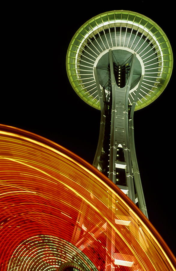 Architecture Photograph - Spinning Needle by Philip Kollen