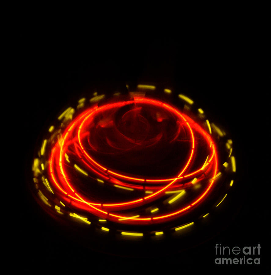 Abstract Photograph - Spinning Top by Balanced Art