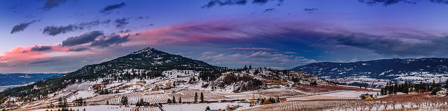 Landscape Photograph - Spion Kop In Winter by Rod Sterling