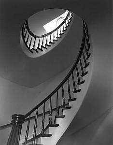 Spiral Stairs Congregational Church Woburn Ma Photograph by Paul Wainwright