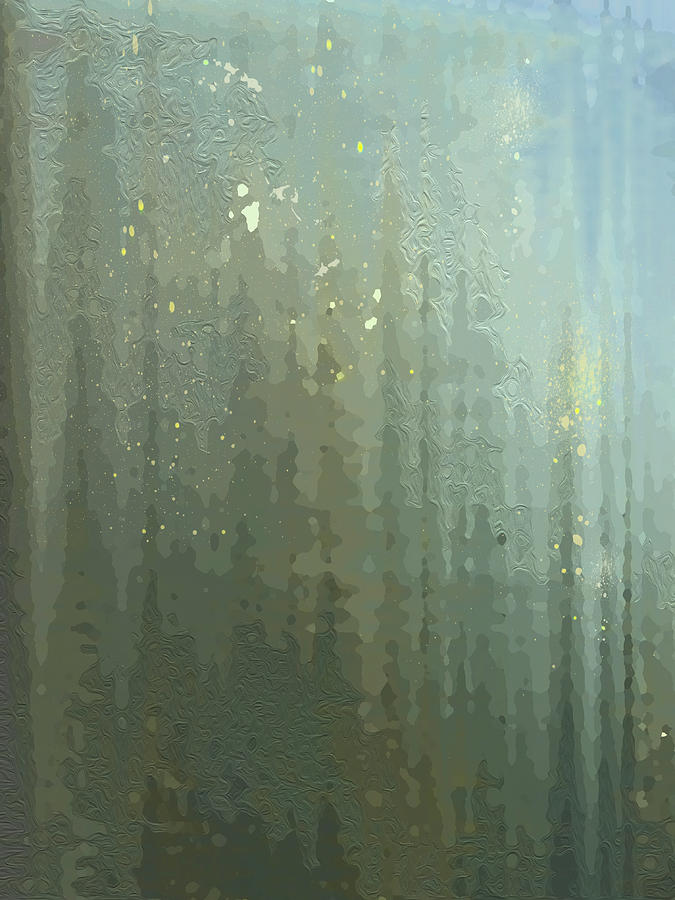 Spires Through a Window by Gina Harrison
