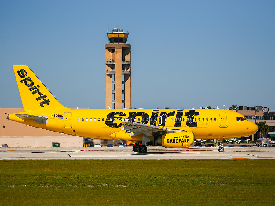 Spirit Airline Photograph by Dart and Suze Humeston