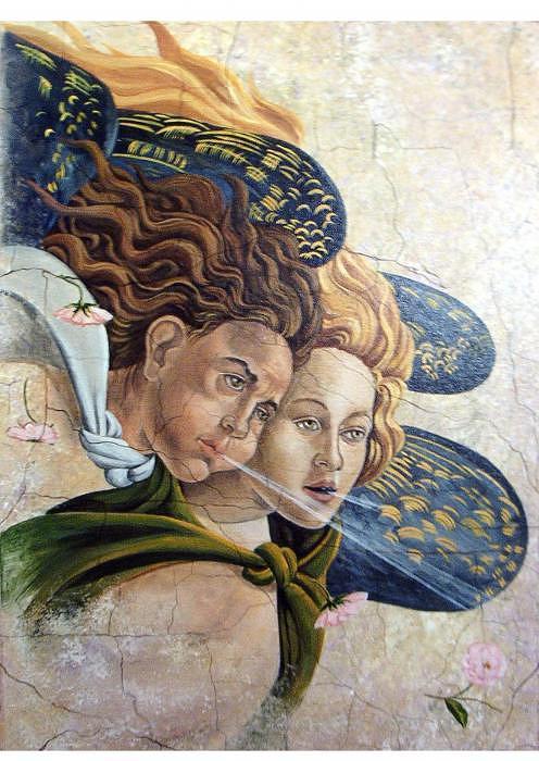 Spirit And Matter Botticellirevisited Painting by Toni Pocaro