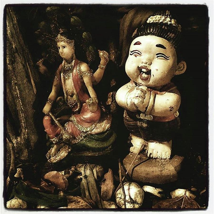 Thailand Photograph - Spirit Cemetery. When A Business Or by Mr Photojimsf