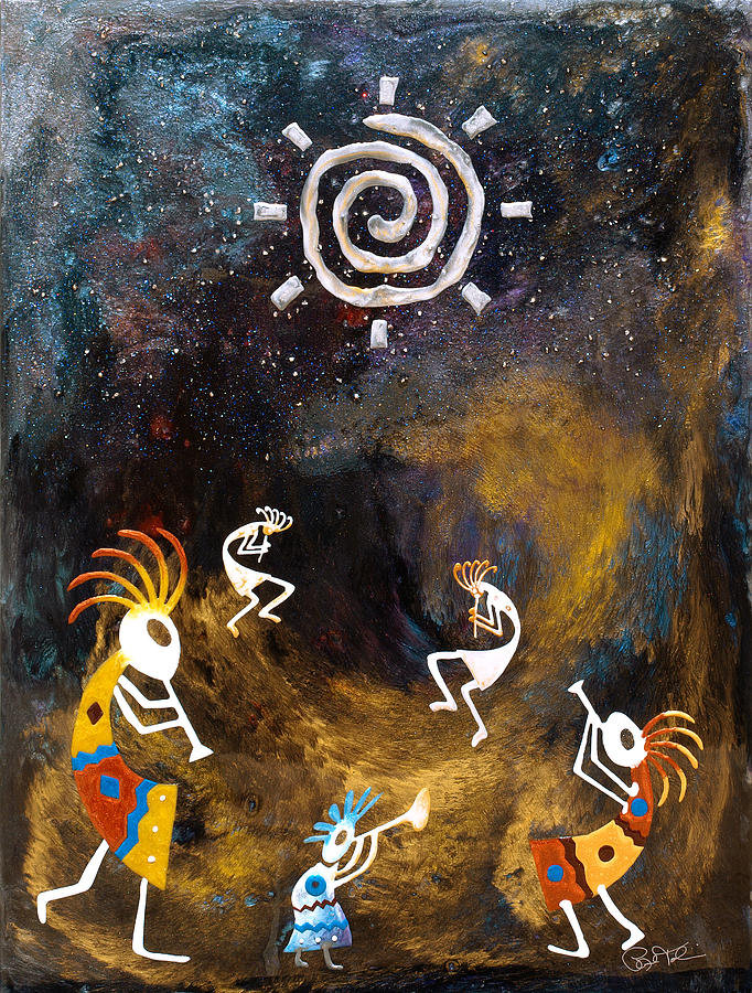 Paul Tokarski Painting - Spirit Dance by Paul Tokarski