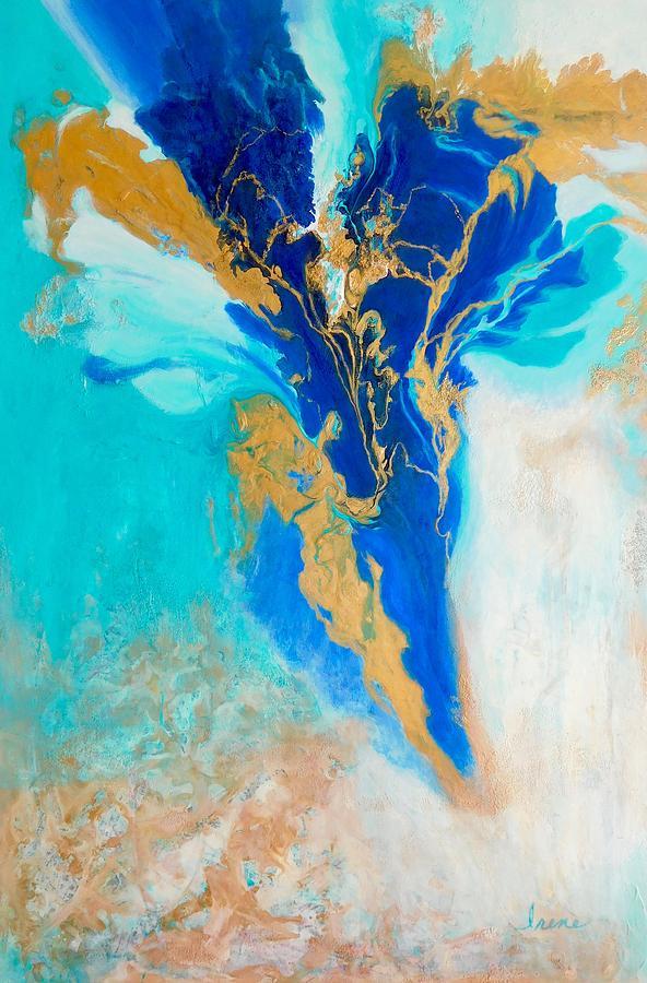 Spirit Dancer Painting - Spirit Dancer by Irene Hurdle