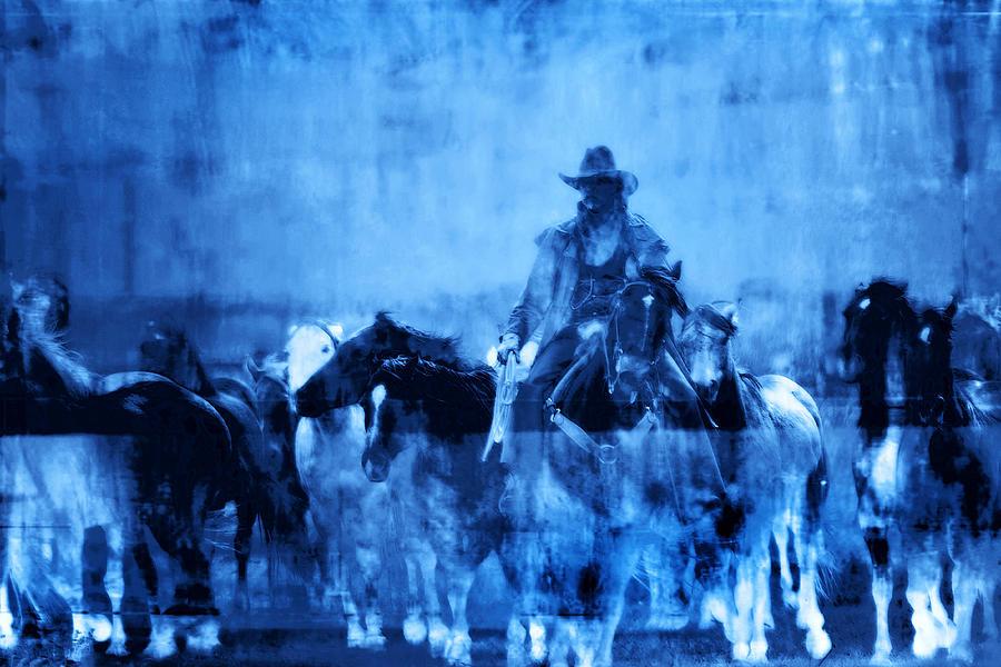 Equine Photograph - Spirit Herd by Nick Sokoloff