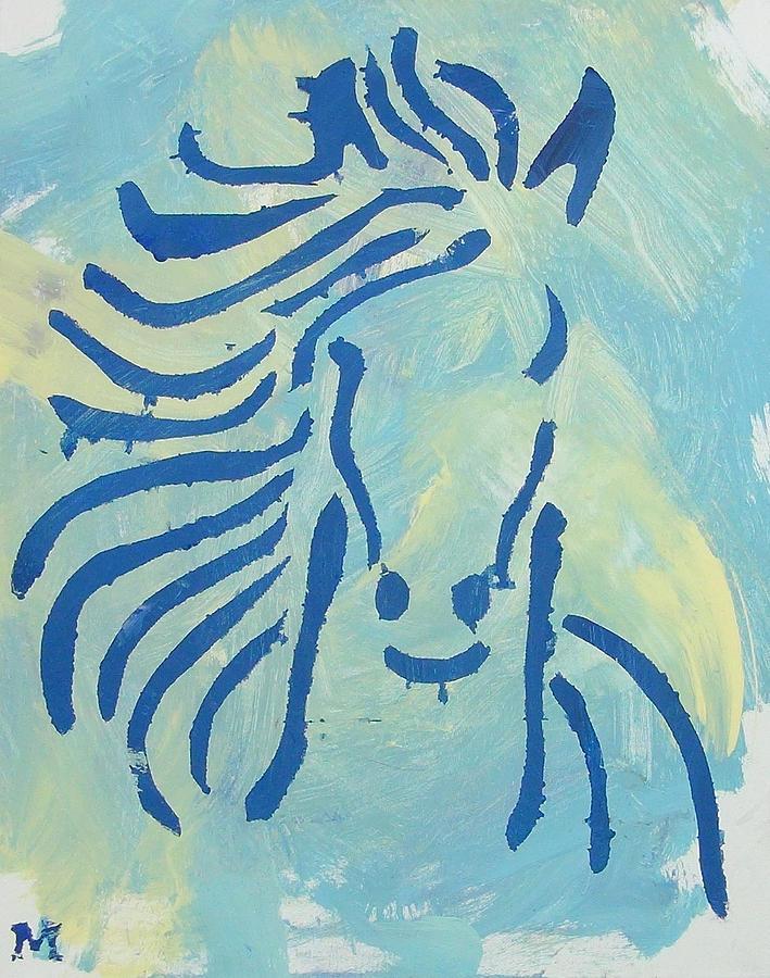 Horse Painting - Spirit Horse by Candace Shrope