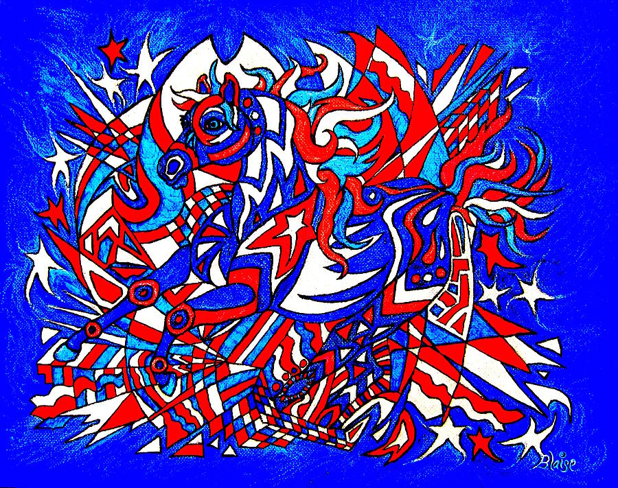 Spirit Of Freedom by Yvonne Blasy