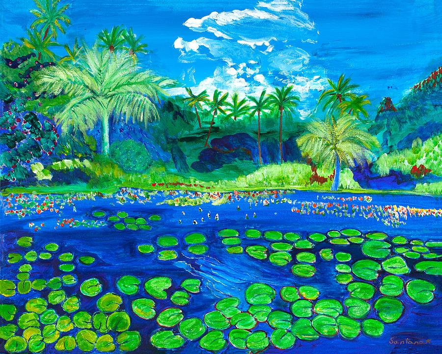 Spirit of Hawaii  16 x20 by Santana Star