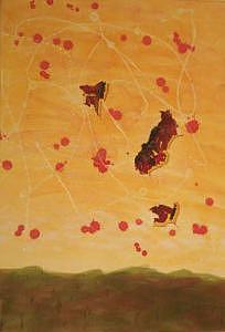 Desert Painting - Spirit Of The Desert by Les  W Dewar