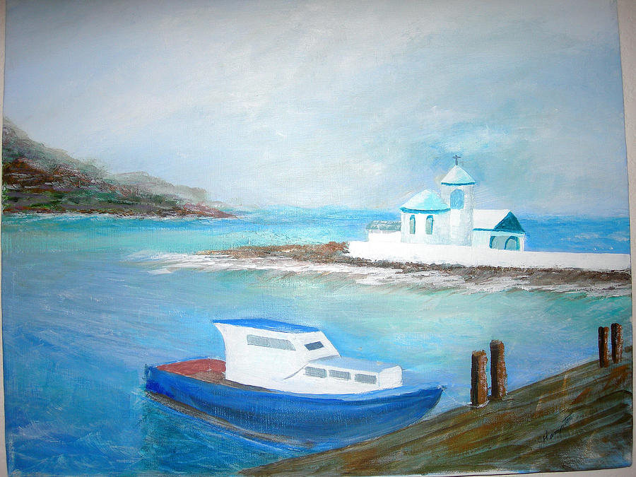 Seascape Painting - Spirit Of The Sea by Jack Hampton