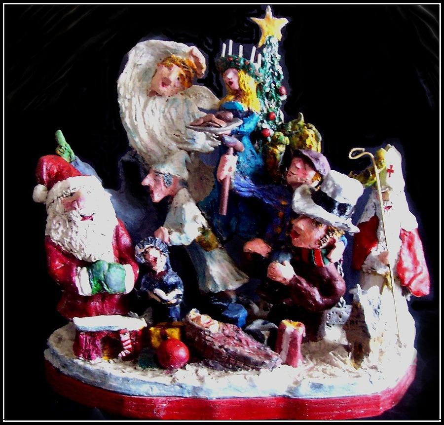 Christmas Sculpture - Spirit  by Richard  Hubal