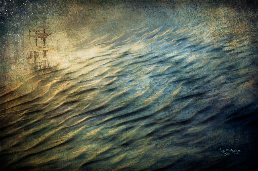 Beach Photograph - Spirit Sailing by Joy Gerow