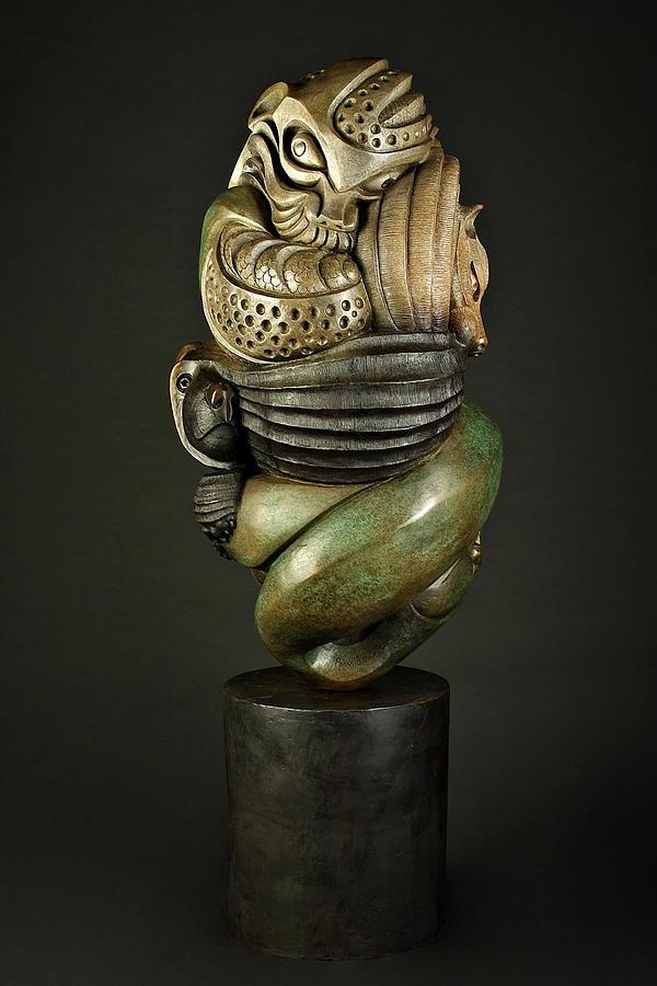 Spirit Totem Sculpture by Pokey  Park