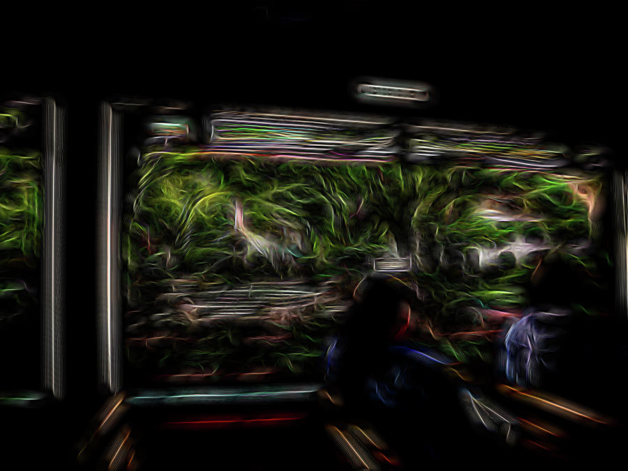 Abstract Digital Art - Spirit Tour by William Horden