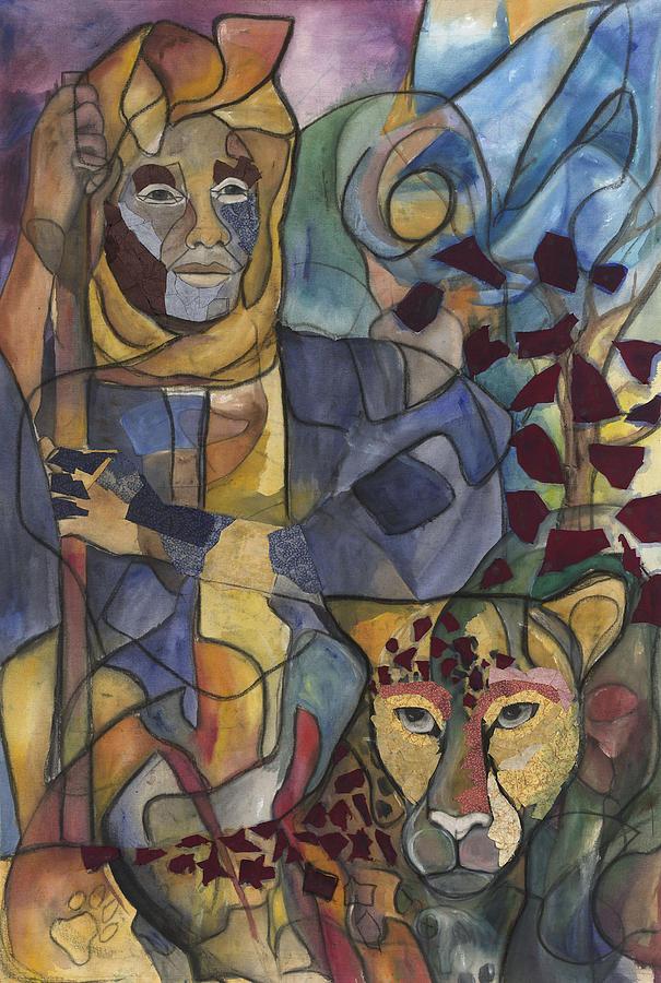Man Painting - Spirit Tracker by Kimberly Kirk