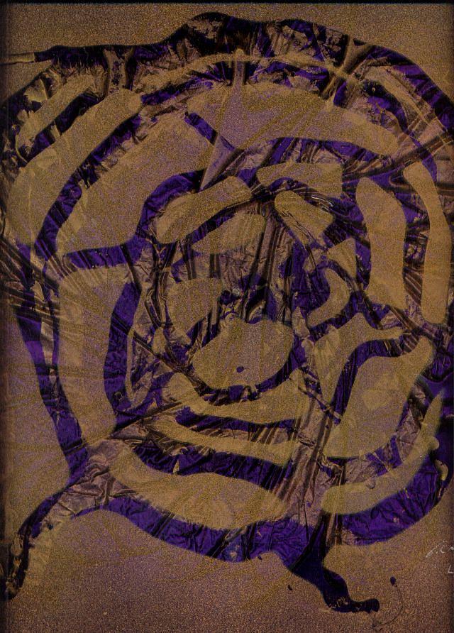 Original Painting - Spirit Web by Rick Silas