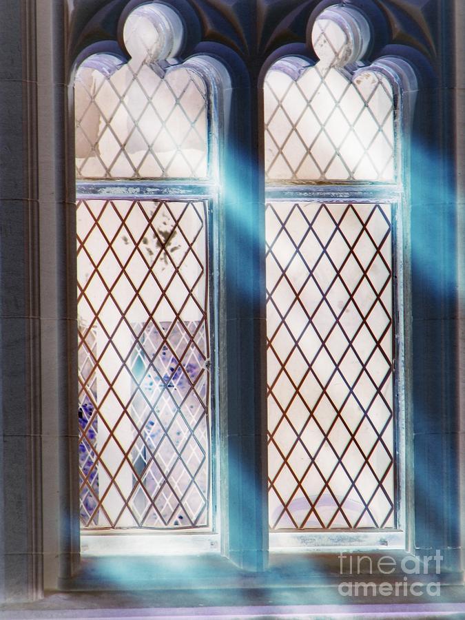 Window Photograph - Spirit Window by Roxy Riou