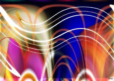 Abstract Digital Art - Spirit World by Brenda Starr
