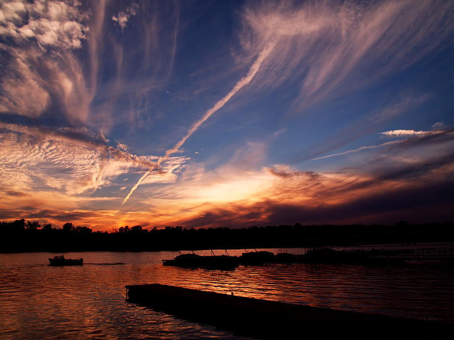 Sky Photograph - Spirits In The Sky by Gaby Swanson