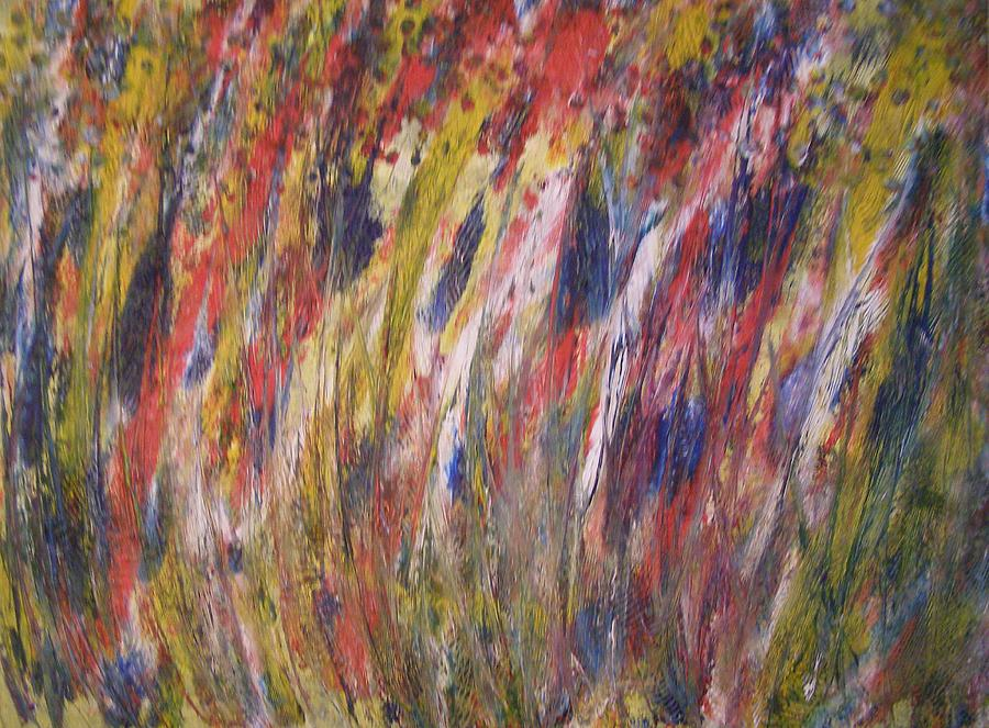 Abstract Painting - Spirits Rising by Don Phillips