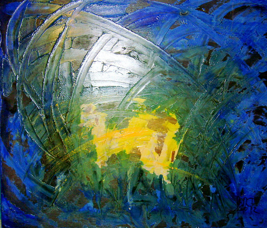 Abstrac Painting - Spiritual Abstrac 17 by Lalo Gutierrez