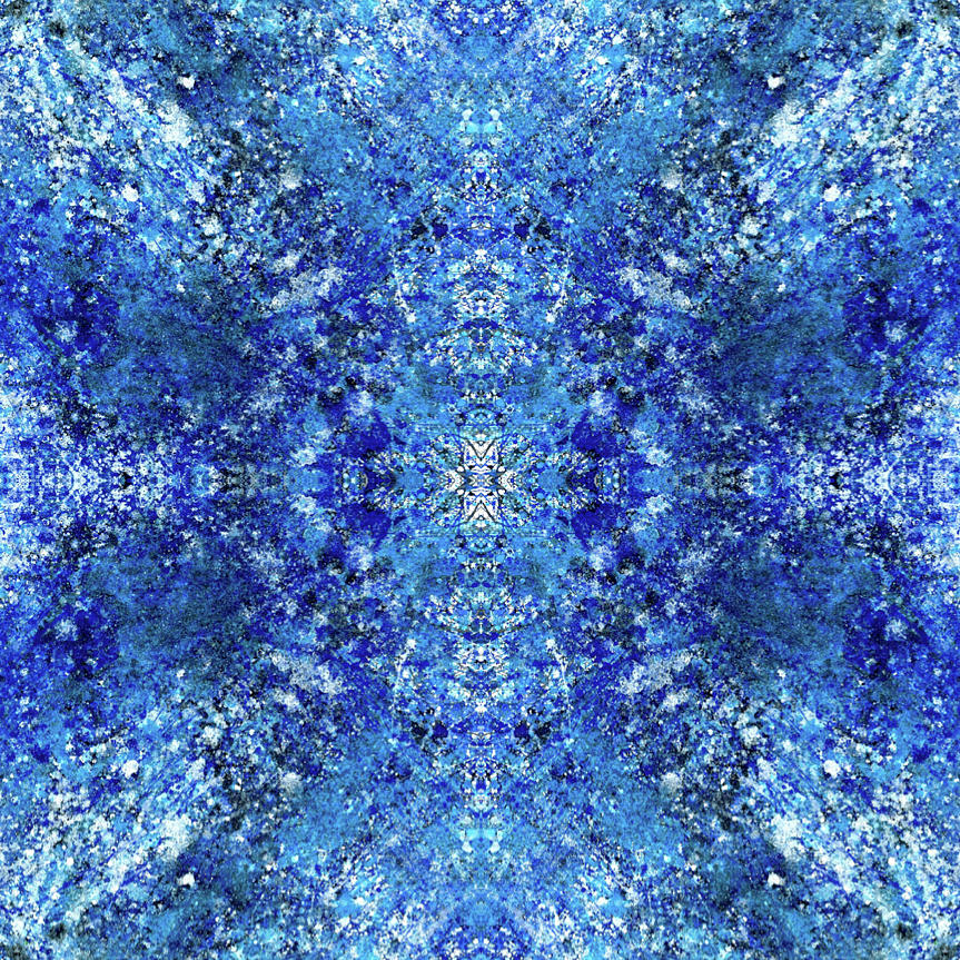 Abstract Mixed Media - Spiritual Vibration Of The Indigo Children #1481 by Rainbow Artist Orlando L