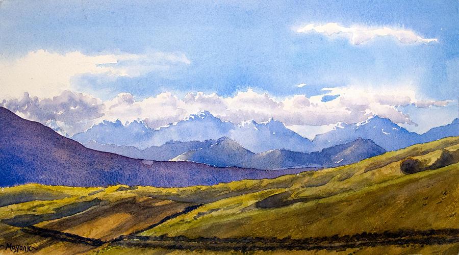 Spiti Landscape by Mayank M M Reid