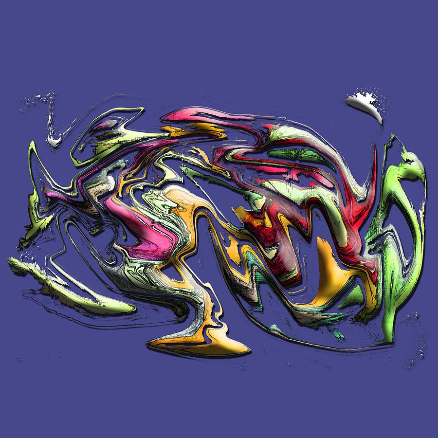 Graphic Design Digital Art - Splash 2 by Aaron Kreinbrook