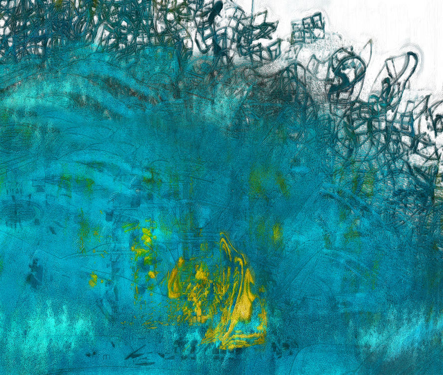 Exotic Painting - Splash by Jack Zulli