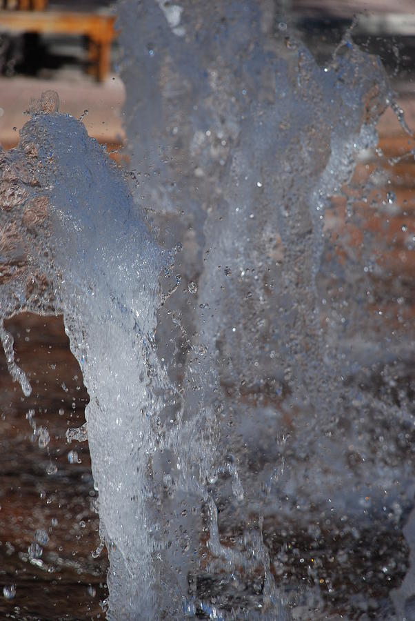 Water Photograph - Splash by Rob Hans