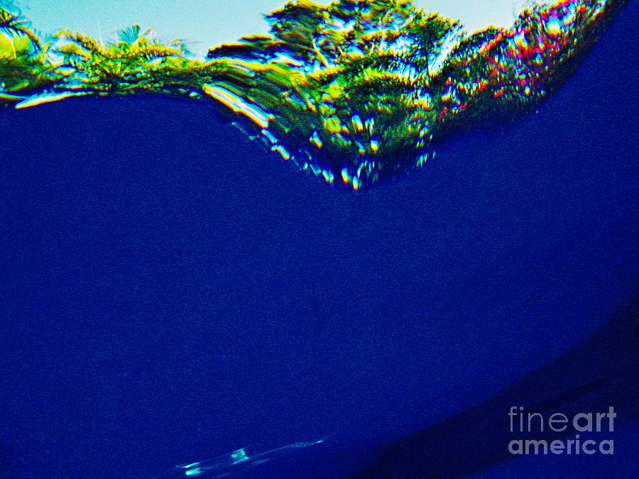 Underwater Photograph - Splash Three by Matthew Syres