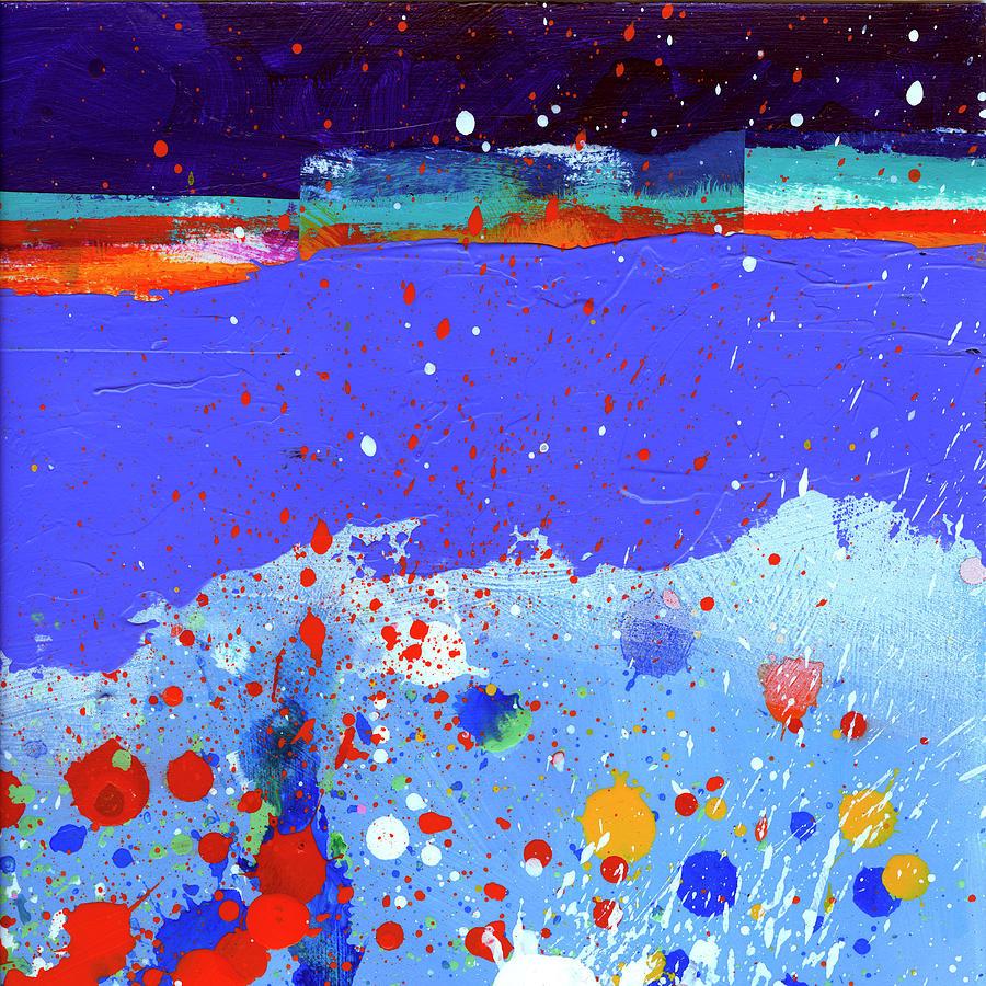 Jane Davies Painting - Splash#5 by Jane Davies