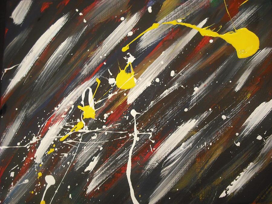 Splatter Painting by Karen C