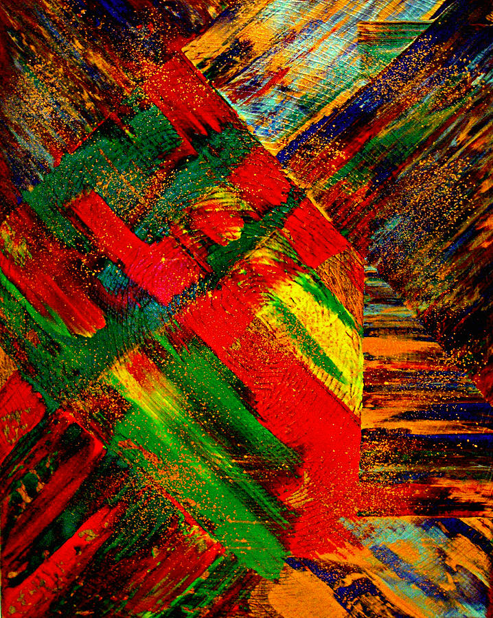 Abstract Painting - Splendid Chaos III by Jay Strong