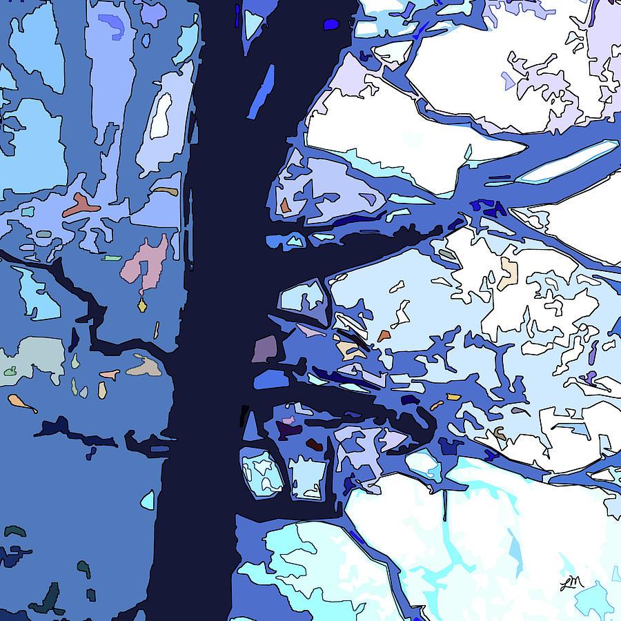Abstract Digital Art - Splendid Idea by Linda Mears