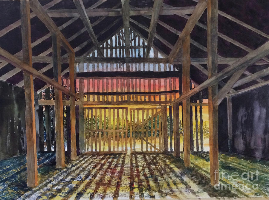 Barn Painting - Splendor In The Barn by Glen Ward