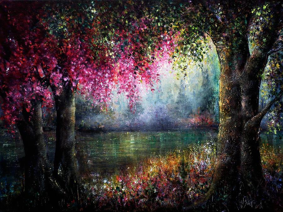 Valentine Painting - Splendour by Ann Marie Bone