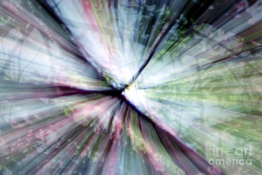 Abstract Photograph - Splintered Light by Balanced Art