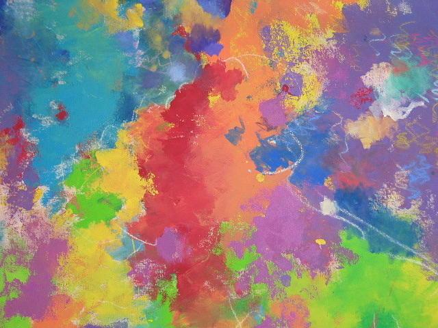 Splish Splash Painting by Anne Lattimore