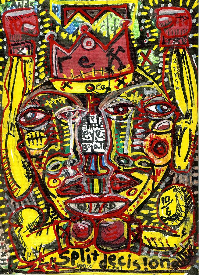 Rwjr Painting - Split Decision by Robert Wolverton Jr