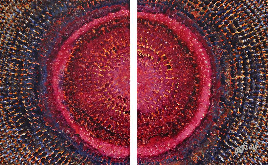 Split Infinity original painting by Sol Luckman