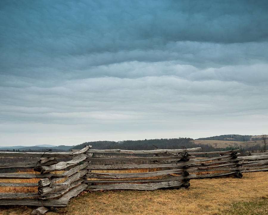 Split Rail Fence On The Blue Ridge Parkway Photograph