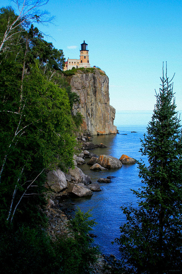 Split Rock Lighthouse Photograph   Split Rock Lighthouse By Bonnie Follett