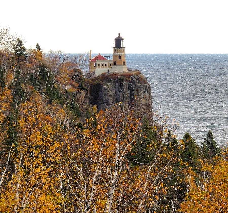 Strange Split Rock Lighthouse Fall Colors Download Free Architecture Designs Rallybritishbridgeorg