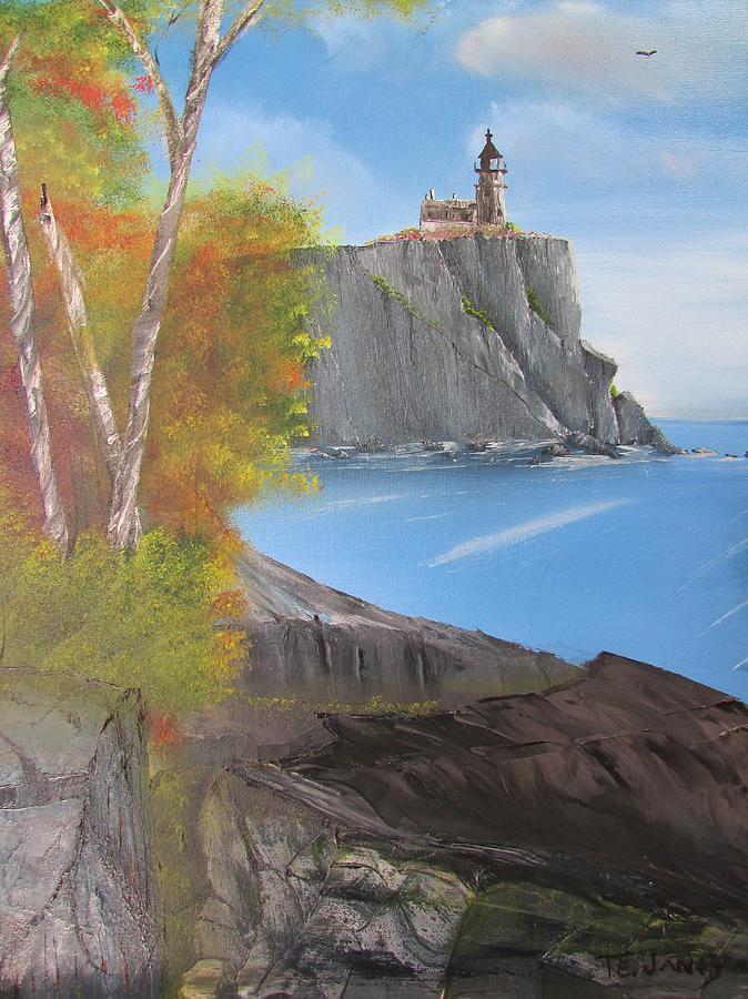 Split Rock Lighthouse Minnesota by Thomas Janos