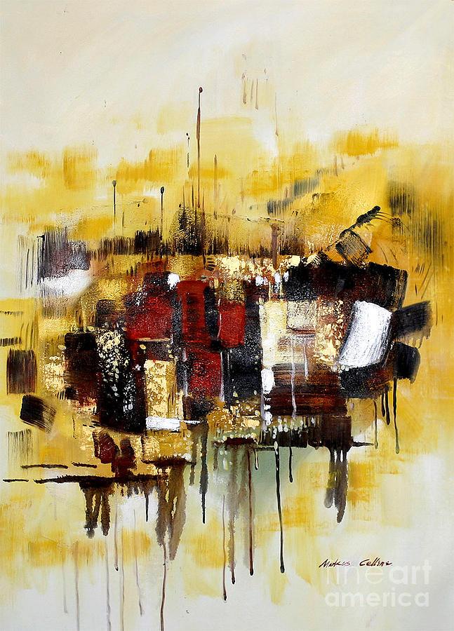 Splosh II Painting by Markus Cellini