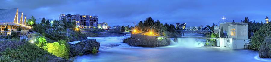 Spokane Photograph - Spokane Falls by Michael Gass